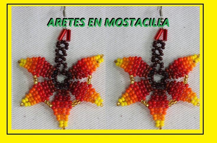 Aretes en mostacilla 22