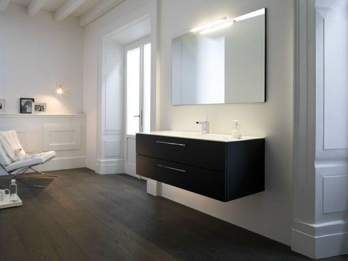 le meuble sous lavabo 60 ides cratives archzinefr - Meuble Pour Lavabo Avec Colonne