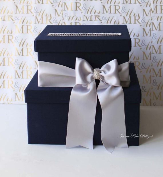 Wedding Card Box Money Box Wedding Box Gift by jamiekimdesigns, $98.00