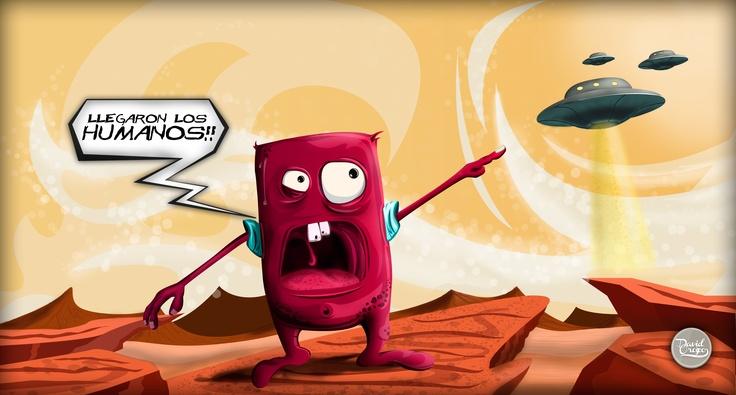 Ilustración desarrollada por nuestro Director de Arte!