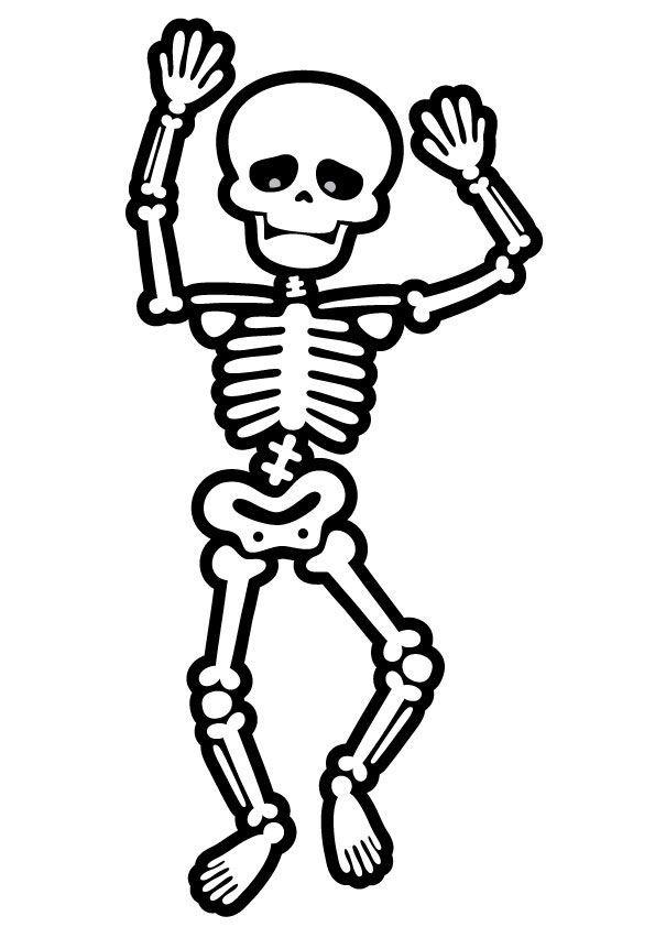 Best 12 Esqueleto De Papel Para Recortar E Montar Jogos Online Wx Skillofking Com Coloring Pages Halloween Wall Decor Halloween Art