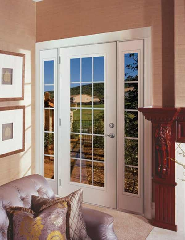 Patio French Doors With Screens best 25+ single french door ideas on pinterest | patio door screen