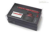 Lamy Safari Fountain Pen Gift Set - Red - Medium Nib - LAMY L16HS