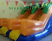 Scivolo Doppio Taranto. Dimensioni: 4x4x5.3 h. 130 kg. Per info: www.pgoplay.com