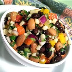 Best-Ever Texas Caviar |  Pinning again with a better photo.  I use great northern instead of pinto and add a poblano.