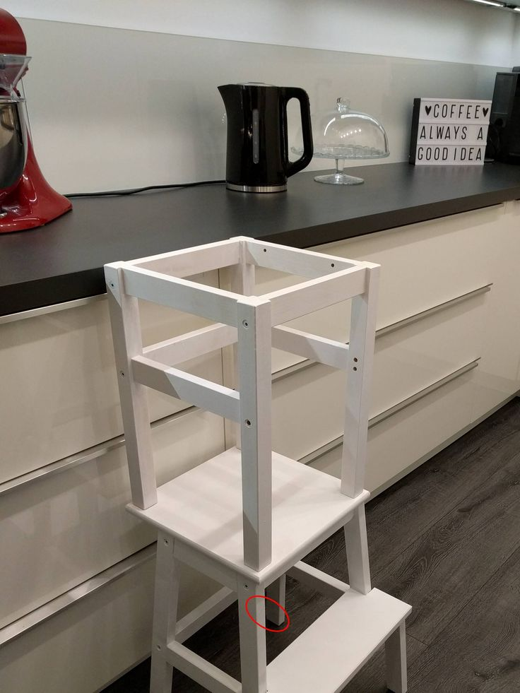 Learning Tower – Ikea Hack Design