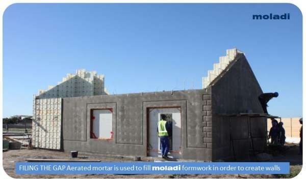moladi - Brickless Construction System