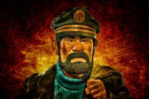 Captain Haddock by Stewart Baird