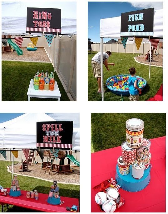 Carnival Fun! Great idea for fundraising or a bring-a-friend night