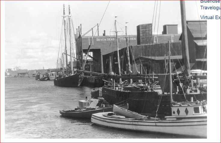 Fishing Schooners Shelburne, NS