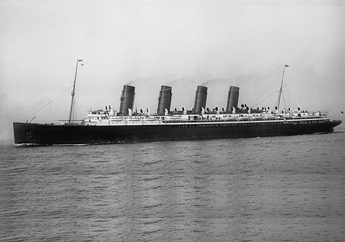 RMS Mauretania | One of my all time favorite liners. | Rolf | Flickr