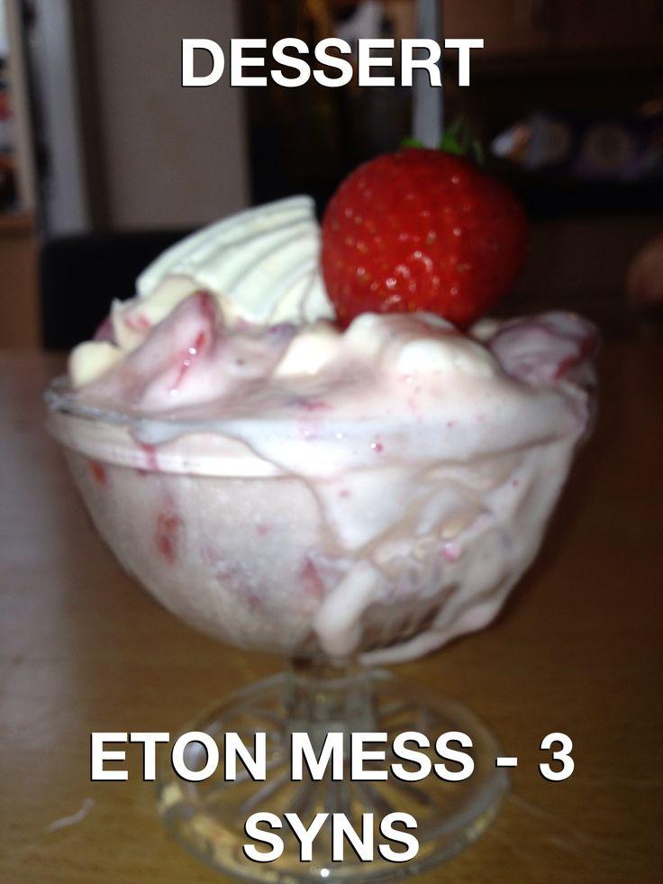 Eton Mess Slimming World