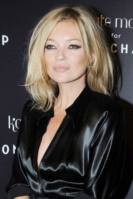 Kate Moss Hair And Hairstyles - Crops Waves Curls And Fringe (Vogue.com UK)