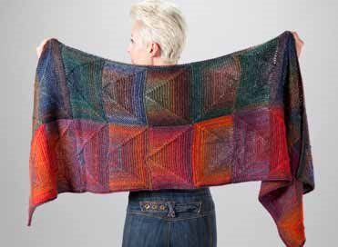 Trendsetter Ascot Wrap - Free Knitted Pattern With Website Registration - (knittingdaily)