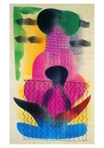 Hendrik Nicolaas Werkman -  'Kompositie 44-45' -  A8858 - Postcard
