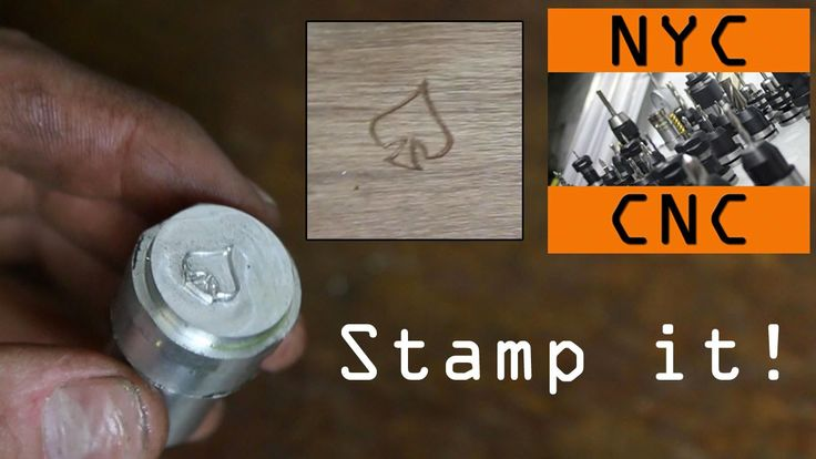Machining a Logo Stamp: SolidWorks to clean it up, and SprutCAM to create toolpaths then machined the stamp on the Tormach PCNC