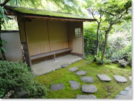 1000 images about japanese koshikake machiai on pinterest for Easy japanese garden