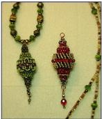 Ladder and Brick Beading Stitches tutorials - basics. #seed #bead #tutorial