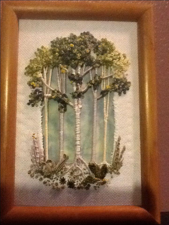 Karen Burningham trees 2014