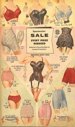 Wow, so cool! 50's undergarments