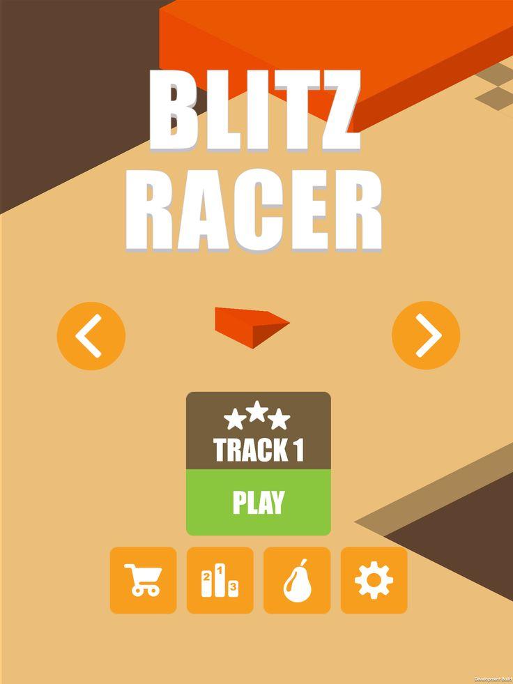 Blitz Racer Version 2 - Track 1 http://www.pearfiction.com https://itunes.apple.com/ca/app/blitz-racer/id939439952?mt=8