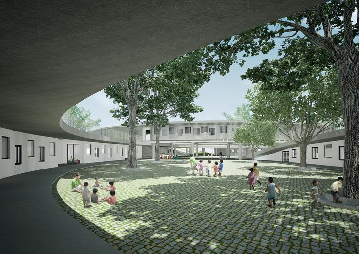 Gallery of In Progress: Farming Kindergarten / Vo Trong Nghia Architects - 9