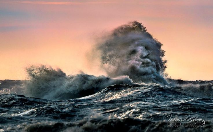 My latest release is titled Spirit of the Deep - Order 642 - featuring a Lake Erie Wave exploding from the turbulent waters eerily resembling a bearded mans face. Is it the ghost of a lost captain who went down with his ship?  Tell me what you see in the comments below.