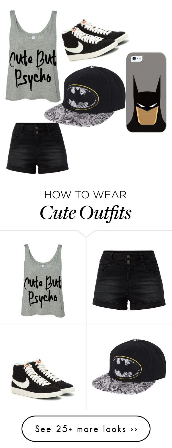 """""""Untitled #213"""" by lydiaubblegum on Polyvore featuring NIKE and Casetify"""
