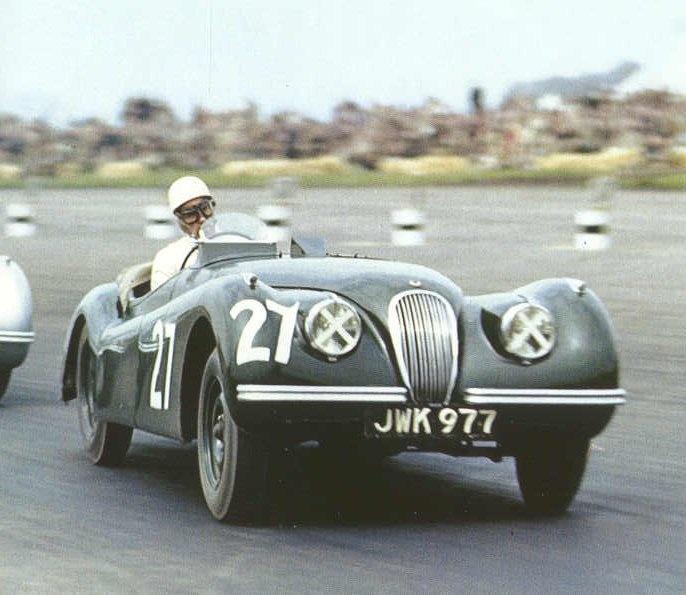 Jaguar Xk120 Coupe: 1951 Silverstone Production Car Race, Peter Walker, Jaguar