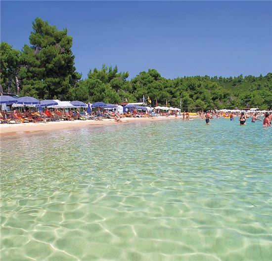 Koukounaries, Skiathos, Greece