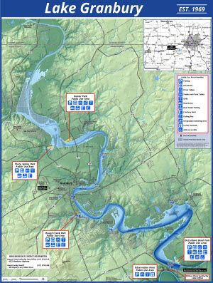The Brazos River Authority > About Us > About the BRA > Maps