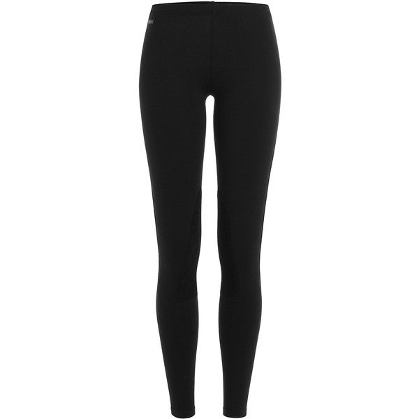 Polo Ralph Lauren Jersey and Velvet Leggings ($105) ❤ liked on Polyvore featuring pants, leggings, black, stretch waist pants, slimming leggings, slim fit trousers, jersey pants and slim pants