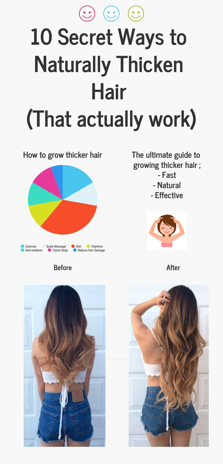 10 ways to naturally thicken your hair hair thickening