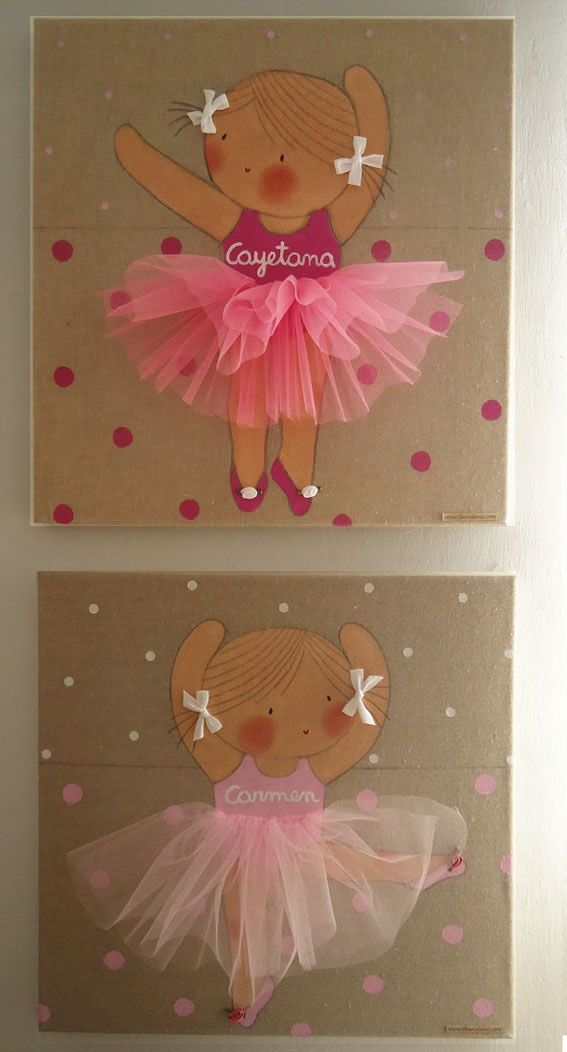 I made it for you: ballet applique ideas