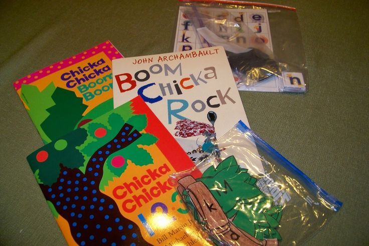 Take Home Book Bags - Growing in Pre K (Chicka Chicka)