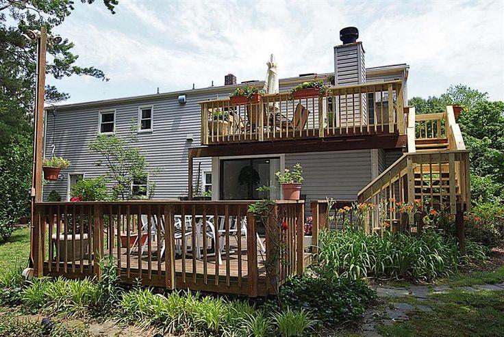 Split level deck google search decks pinterest we for Split level patio
