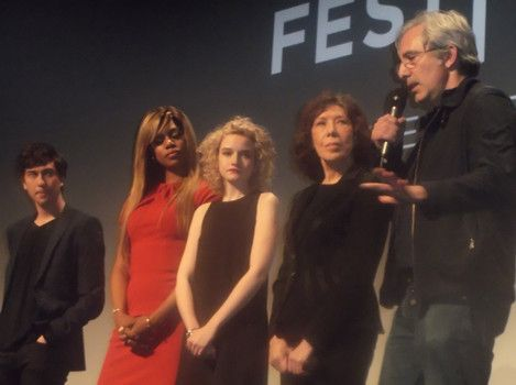 cool Lily Tomlin, Laverne Cox, Julia Garner and Paul Weitz talk about 'Grandma'