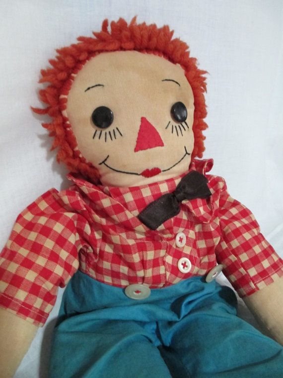 Vintage Raggedy Andy Cottage Made c.1940's by gatormom13