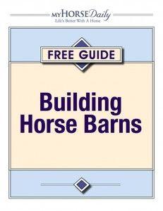 Building Horse Barns