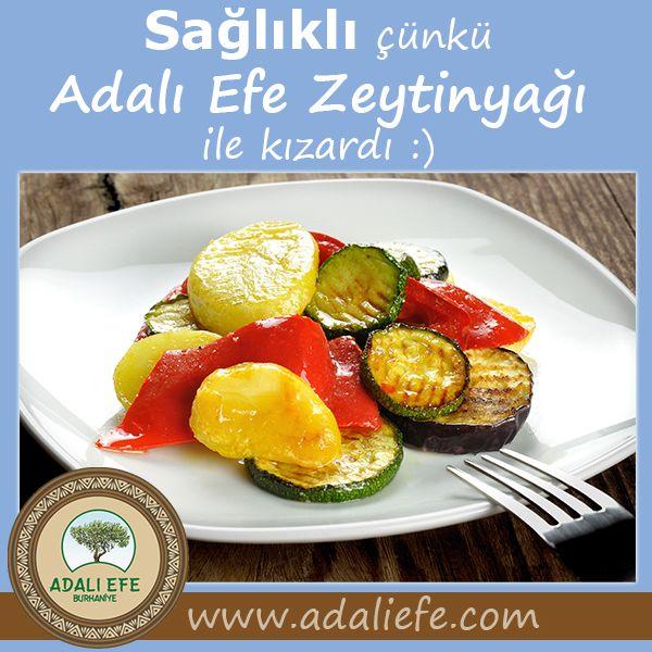 Sağlıklı yemek zeytinyağı ile yapılır :)www.adaliefe.com (532) 256 0919 Tel / WhatsApp