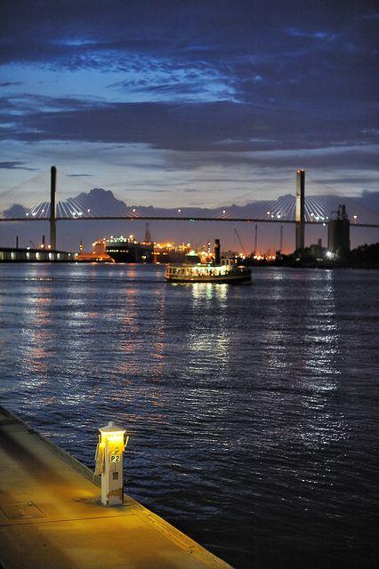 Savannah River - Savannah, GA | Flickr - Photo Sharing!