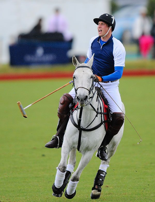 Prince William To Play In Polo Match Day After Kate Middleton's Due Date