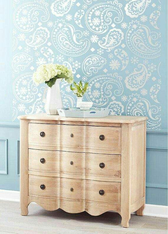Prfctly featurd wall with soothing n calming pattern nd colors..
