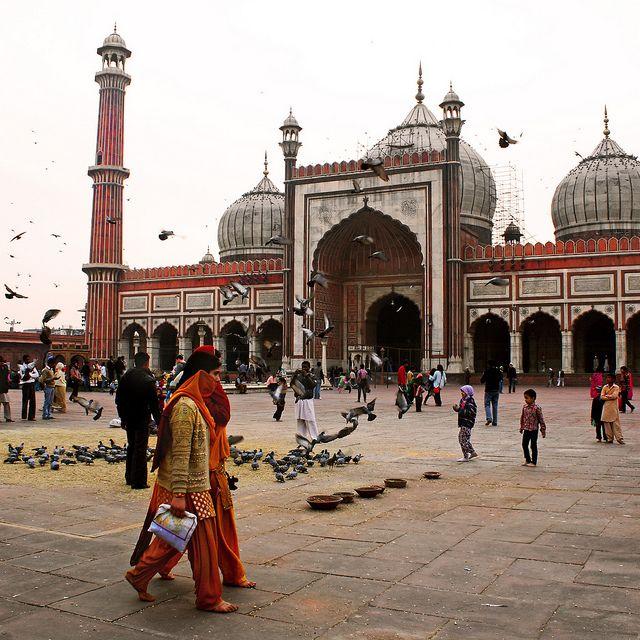 Jama Masjid, Delhi   Flickr - Photo Sharing!