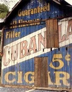 "cigar logo painted barn   www.LiquorList.com ""The Marketplace for Adults with Taste"" @LiquorListcom #LiquorList"