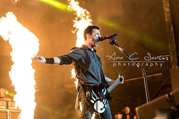 Godsmack  Sully Erna  Concert Photo Print