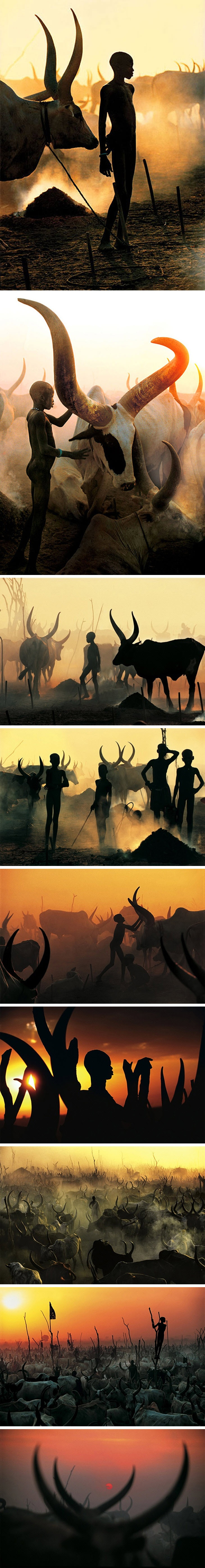 Dinka by Carol Beckwith & Angela Fisher