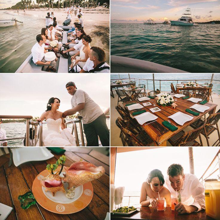 punta cana wedding boat, la barcaza