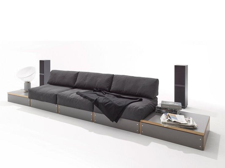 Modular sofa SOFABANK - Müller Möbelwerkstätten
