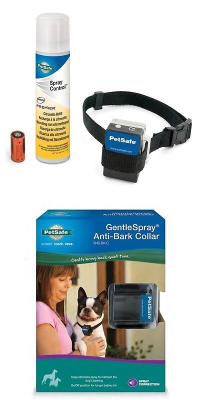 Bark Collars 66774: Petsafe Premier Spraysense Anti Bark Citronella Spray Dog Collar Snsbkc -> BUY IT NOW ONLY: $45.95 on eBay!